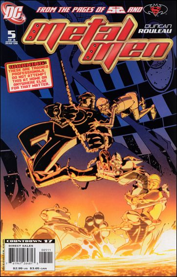 Metal Men (2007) 5-A by DC