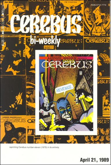 Cerebus Bi-Weekly 11-A by Aardvark-Vanaheim