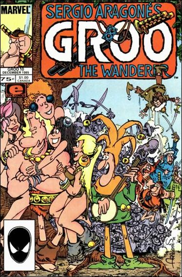 Sergio Aragones Groo the Wanderer 10-A by Epic