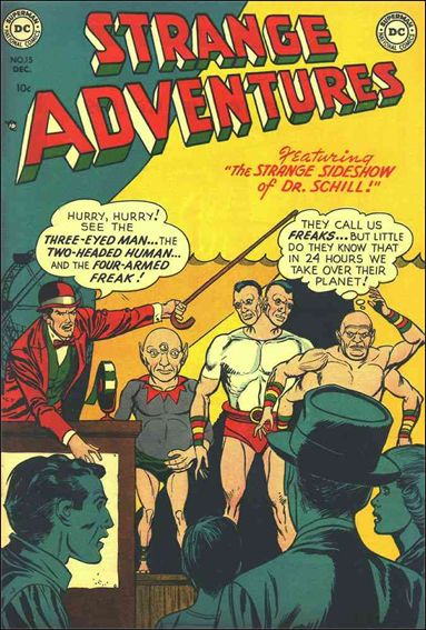 Strange Adventures (1950) 15-A by DC
