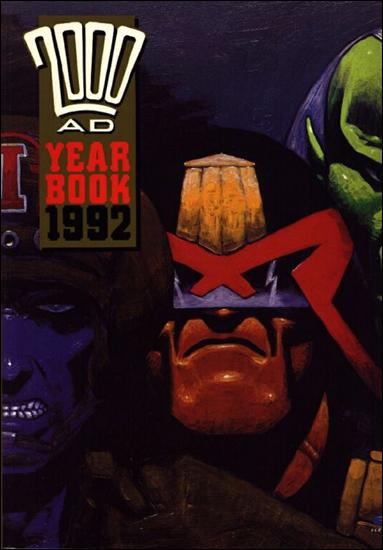 2000 A.D. Year Book 1992-A by Fleetway