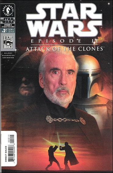 Star Wars: Episode II - Attack of the Clones 2-B by Dark Horse