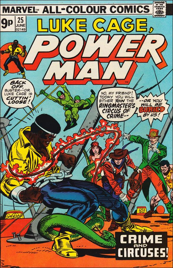Power Man 25-B by Marvel