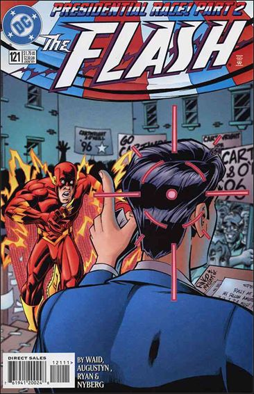 Flash (1987) 121-A by DC