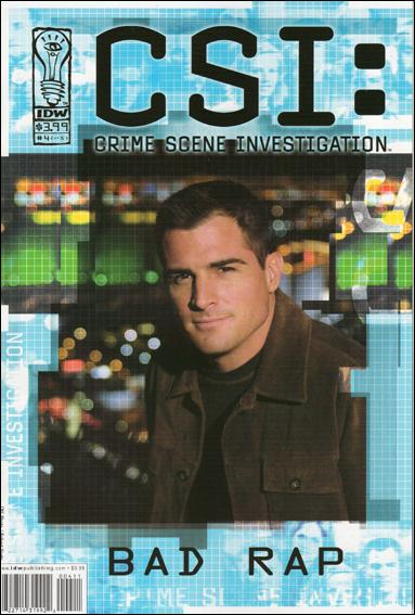 CSI: Crime Scene Investigation-Bad Rap 4-A by IDW