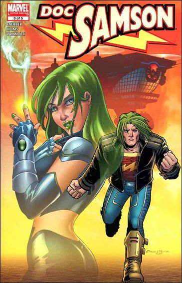 Doc Samson (2006) 3-A by Marvel