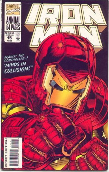 Iron Man Annual 15-A by Marvel