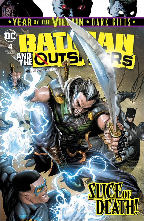 Batman and the Outsiders (2019) 4-A by DC