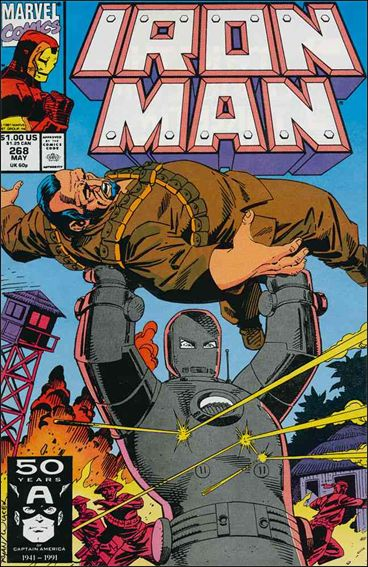 Iron Man (1968) 268-A by Marvel