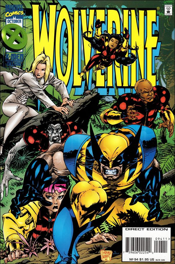 Wolverine (1988)  94-A by Marvel