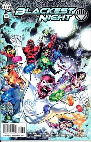 Blackest Night 8-A by DC