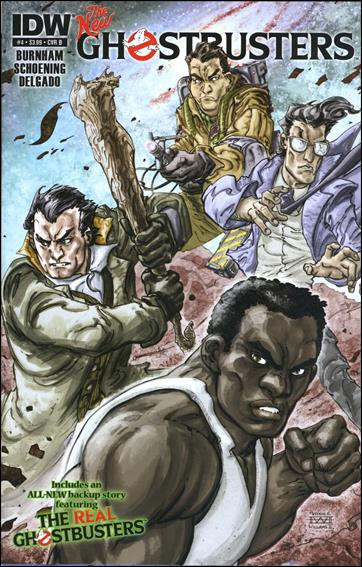 Ghostbusters (2013) 4-B by IDW
