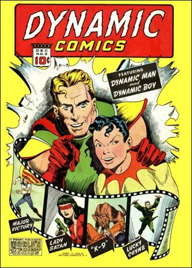 Dynamic Comics (1941) 2-A by Harry A. Chesler