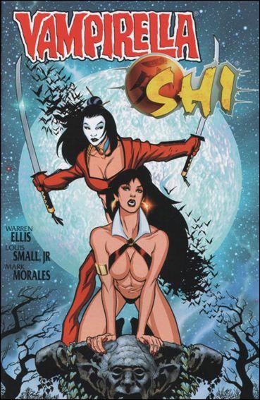 Vampirella/Shi 1-A by Harris