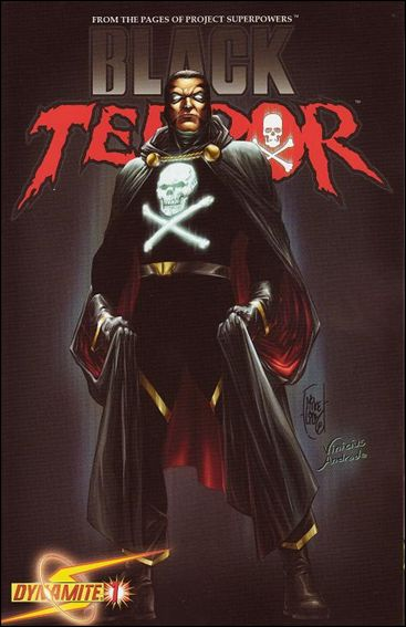 Black Terror (2008) 1-D by Dynamite Entertainment