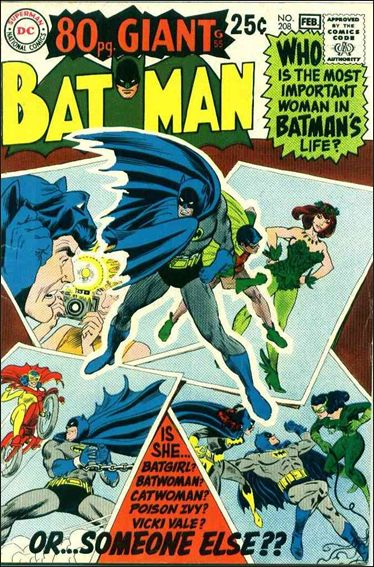 Batman (1940) 208-A by DC