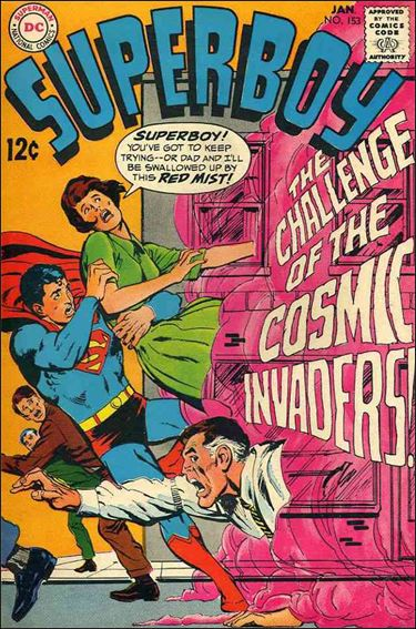 Superboy (1949) 153-A by DC