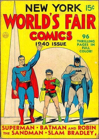 New York World's Fair Comics 1940-A by DC