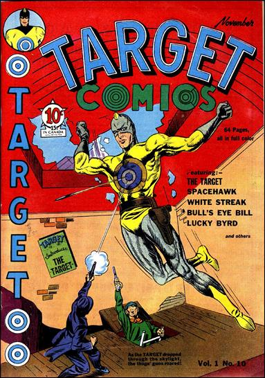 Target Comics (1940) 10-A by Novelty Press