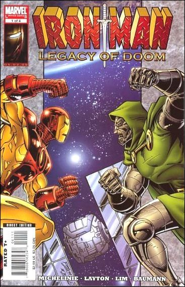 Iron Man: Legacy of Doom 1-A by Marvel