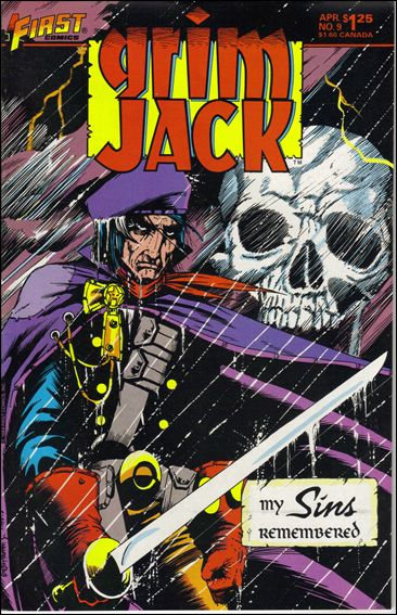 Grimjack 9-A by First