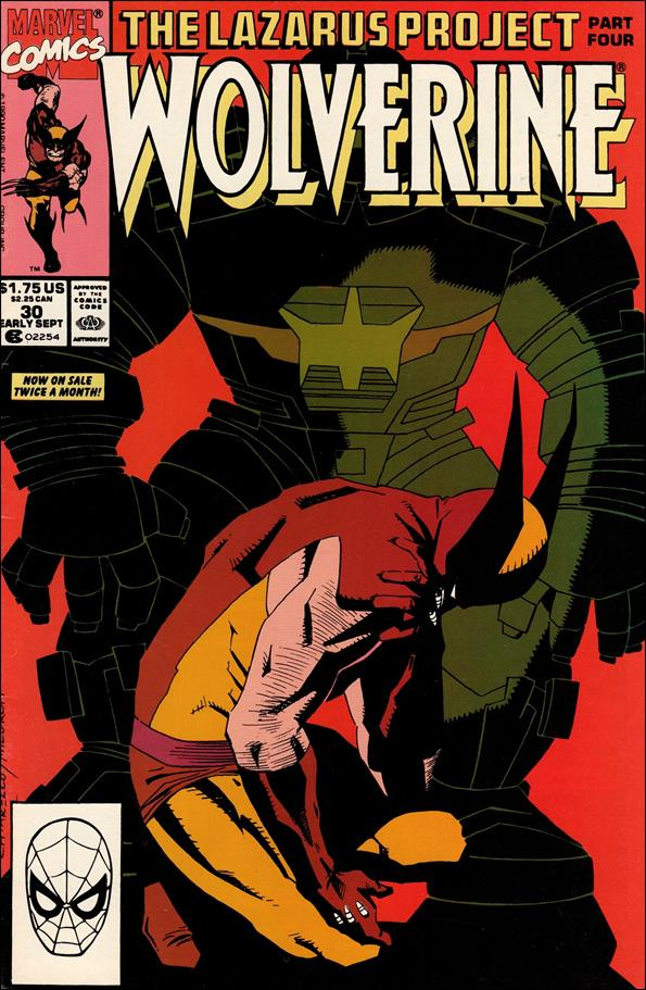 Wolverine (1988)  30-A by Marvel
