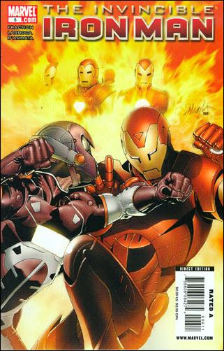 Invincible Iron Man (2008) 6-A by Marvel