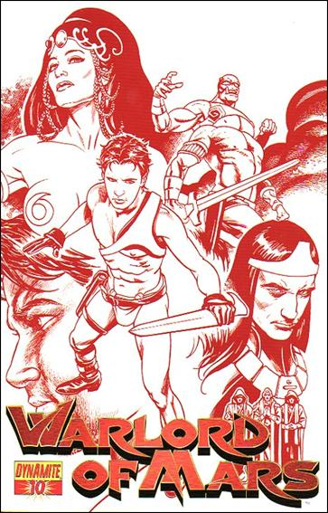 Warlord of Mars 10-D by Dynamite Entertainment