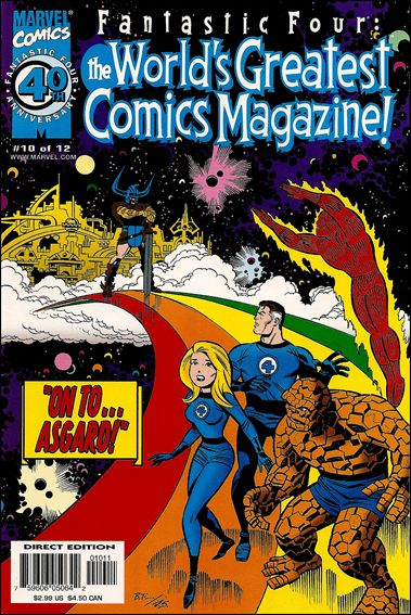 Fantastic Four: The World's Greatest Comics Magazine 10-A by Marvel