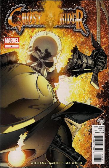 Ghost Rider (2011) 8-A by Marvel