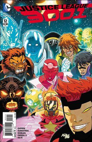 Justice League 3001 12-A