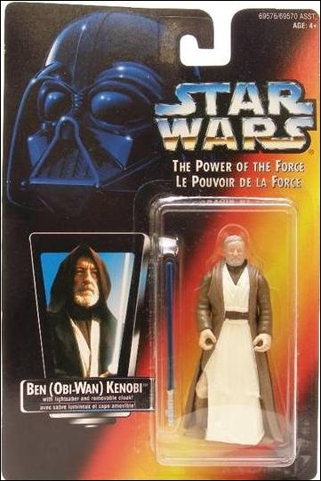 "Star Wars: The Power of the Force 2 3 3/4"" Basic Action Figures Ben (Obi-Wan) Kenobi (Canadian) by Kenner"