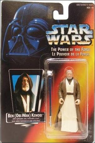 "Star Wars: The Power of the Force 2 3 3/4"" Basic Action Figures Ben (Obi-Wan) Kenobi (Canadian)"