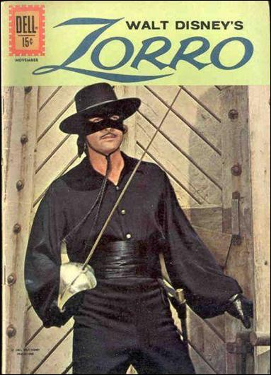 Zorro (1959) 15-A by Dell