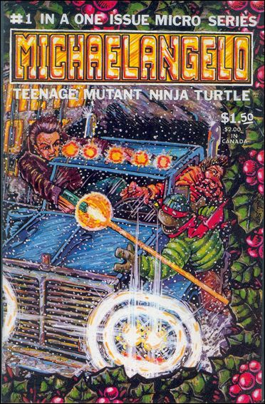Michaelangelo Teenage Mutant Ninja Turtle 1-A by Mirage
