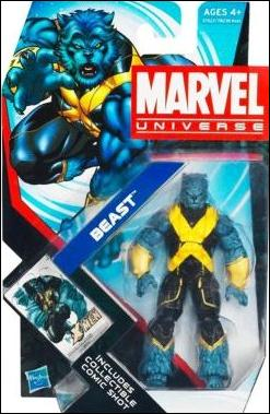 Marvel Universe (Series 4) Beast (Right-Side Up) by Hasbro