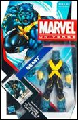 Marvel Universe (Series 4) Beast (Right-Side Up)