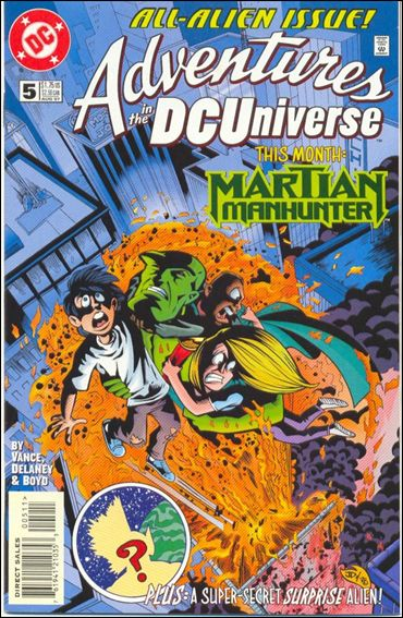 Adventures in the DC Universe 5-A by DC
