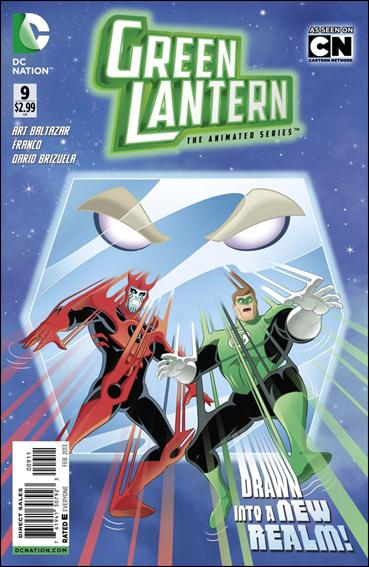 Green Lantern: The Animated Series 9-A by DC