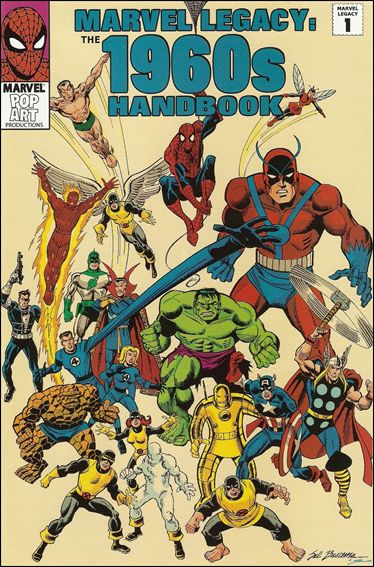 Marvel Legacy: The 1960s Handbook 1-A by Marvel