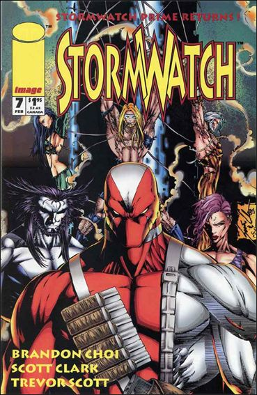 StormWatch (1993) 7-A by Image