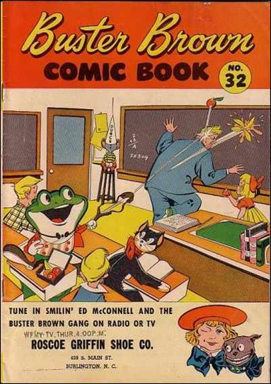 Buster Brown Comics 32-A by Brown Shoe Co.