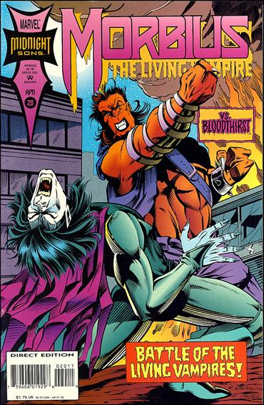 Morbius: The Living Vampire (1992) 20-A by Marvel