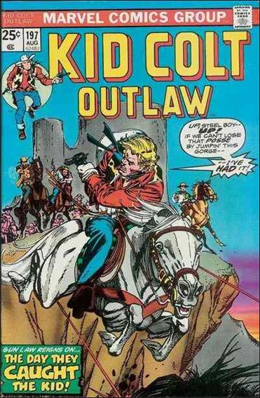 Kid Colt Outlaw  197-A by Marvel