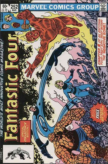 Fantastic Four (1961) 252-A by Marvel
