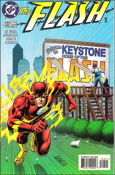 Flash (1987) 122-A by DC
