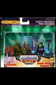 Masters of the Universe Minis Moss Man and Battle Armor Skeletor