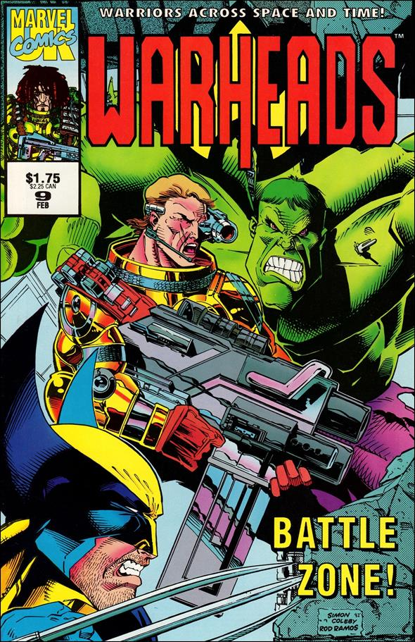 Warheads (UK) 9-A by Marvel UK