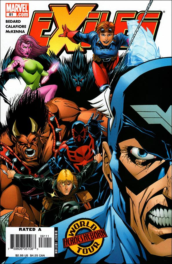 Exiles (2001) 81-A by Marvel