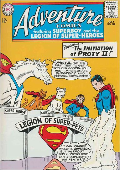 Adventure Comics (1938) 322-A by DC
